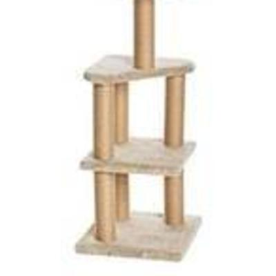 AmazonBasics Cat Activity Tree with Scratching Posts Grey