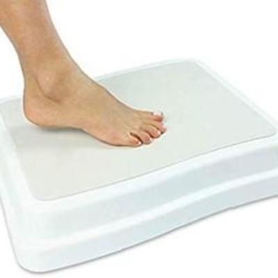 Bath Step (4 inch) - Slip Resistant Shower Stepping Stool