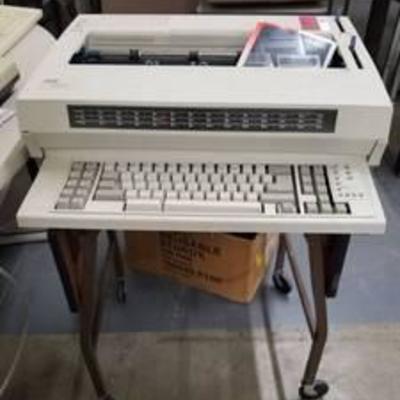(2) IBM Wheelwriter 1500 And Table