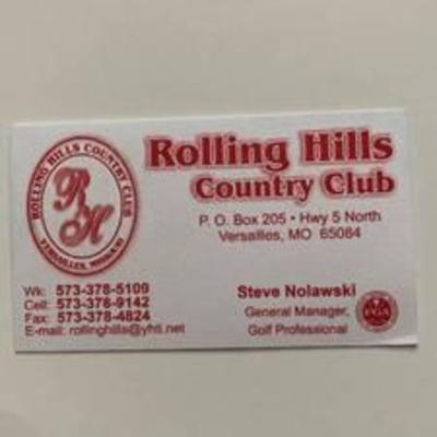 Rolling Hills Country Club (Versailles MO)