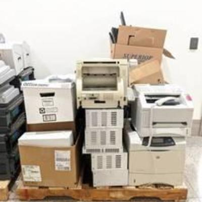 Polycom Sound Stations, Keyboards, Laser Fax Machines, Security Camera Dome, 3Com Telephones, GE Security AV Controls And More