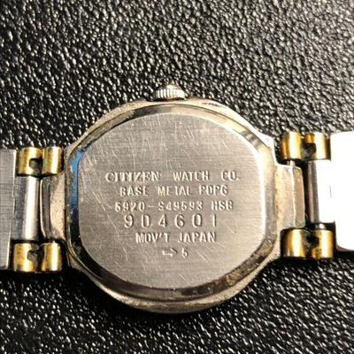 Vtg Ladies Citizen Two Tone watch