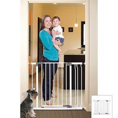 Dreambaby Liberty Auto Close Stay Open Security Gate with 3.5 Extension-White