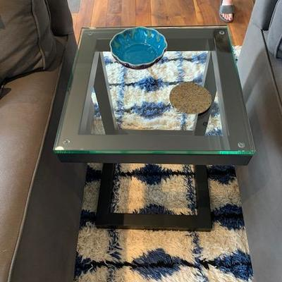 Mitchell Gold & Bob Williams Side Tables Pair $475