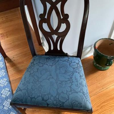 1 Upholstered Seat Dining Chair $75