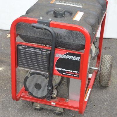 SOLD SOLD SOLD #6 Snapper Generator 5600 Running Watt $150