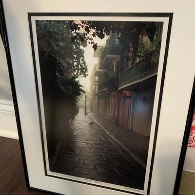 "$150-Signed & Numbered Lee Tucker Photograph ""After Mist""-13.5"