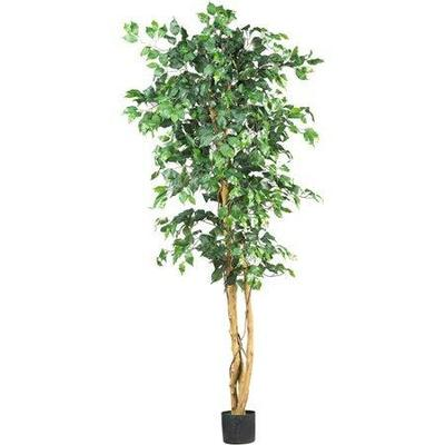 Nearly Natural 6-ft. Artificial Ficus Silk Tree, Green