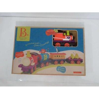 B. Toys Locomotive Train Set with Steam