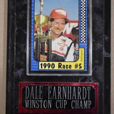 Dale Earnhardt Maxx Collection 1991 Race Cards in Winston Cup Champ Wall Plaque - WILL SHIP
