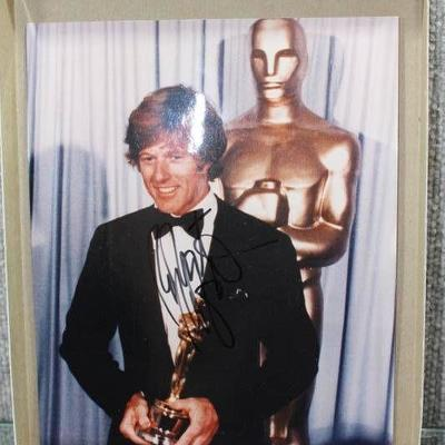 Autographed 8x10 Movie Star Celebrity Photo -Robert Redford -WILL SHIP