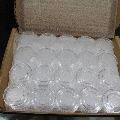 Box of 50 Guard House Direct-Fit Protective Coin Capsules (Airtites) -18mm DIME - WILL SHIP