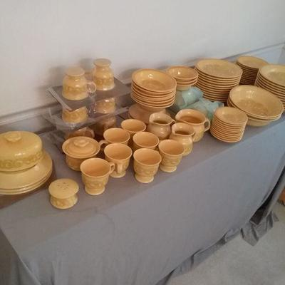 California Craftsman Franciscan Earthenware Dishes