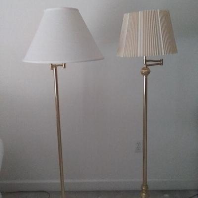 Classic Brass Floor Lamps