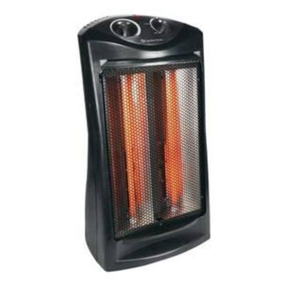 Comfort Zone CZQTV007BK Radiant Quartz Tower Heater