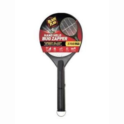 Black Flag Hand-Held Racket Bug Zapper