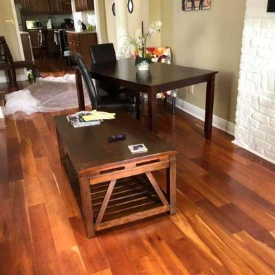 PA009 Coffee Table $95, Dinning Table w/ 4 Leather Chairs $250 We will not hold unless Paid for Venmo @Rafael-Monzon-1 PayPal:...