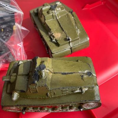 Rubber army tank toys