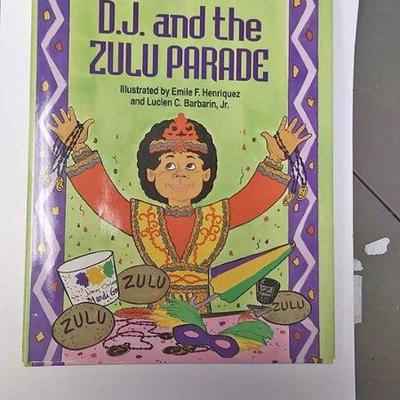 https://www.ebay.com/itm/124158326567AB0226 D.J. AND THE ZULU PARADE HARD COVER illustrated CHILDRENS BOOK  BY DENISE WALTER MCCONDUIT...