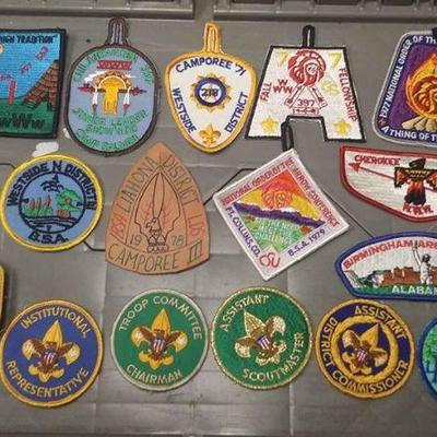 https://www.ebay.com/itm/124166165837	AB0278 LOT OF 17 VINTAGE BOY SCOUTS OF AMERICA PATCHS $40.00   MORE BOX 70 AB0278