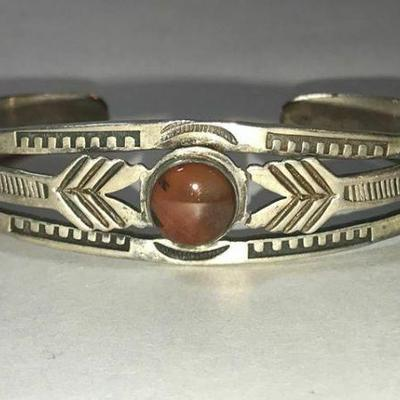 https://www.ebay.com/itm/124165935278	RX131: HANDMADE FRED HARVEY STERLING SILVER AND RED STONE BRACELET	Ebay Auction	Starts 4/27/2020