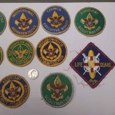 https://www.ebay.com/itm/124166170198	AB0282 LOT OF 10 VINTAGE BOY SCOUTS OF AMERICA PATCHS $30.00   MORE BOX 70 AB0282