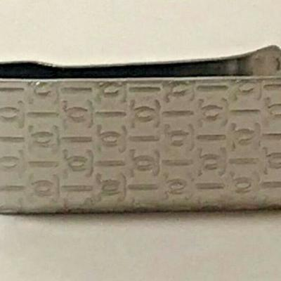 https://www.ebay.com/itm/114204333555	RX133: CHANEL STERLING SILVER MONEY CLIP Auction