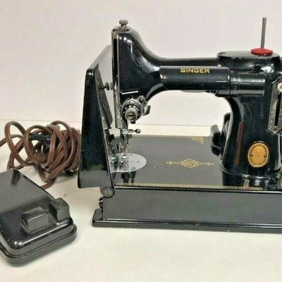 https://www.ebay.com/itm/114199940760	GB024: ANTIQUE TRAVEL SEWING MACHINE RUNS BUT NEEDS WORK LOCAL PICK UP	Ebay Auction	Starts 4/27/2020