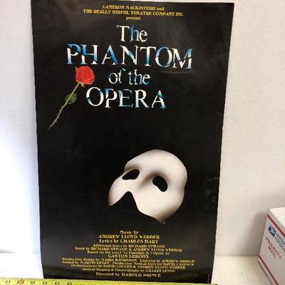 https://www.ebay.com/itm/114217317536GB030: The Phantom of the Opera Print 1986 14