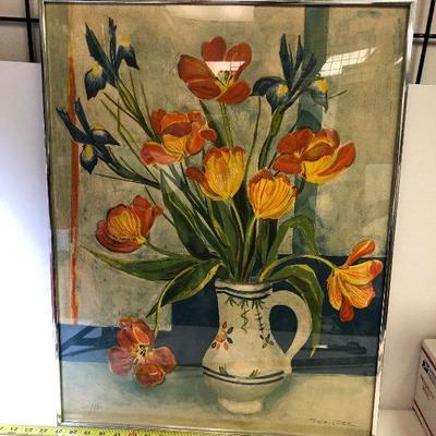 https://www.ebay.com/itm/124180862624LAN9825 Roger Forissier Still Live Numbered Lithograph Framed $200.00