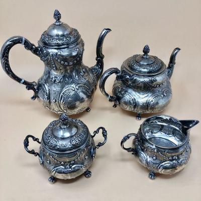 4 Piece Sterling Silver Tea set