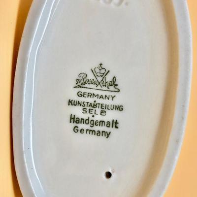 1930s Rosenthal Whippet Greyhound porcelain figurine