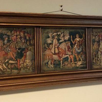 https://www.ebay.com/itm/124190237575BU1087: Tapestry Hanging Wall Art Local Pickup $75