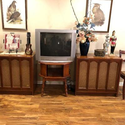 https://www.ebay.com/itm/124189478645BU1046: Electro- Voice E-V Six (EV6) Mid Century Speakers (Pair) 3rd Party Shipping. THE CABINETS...