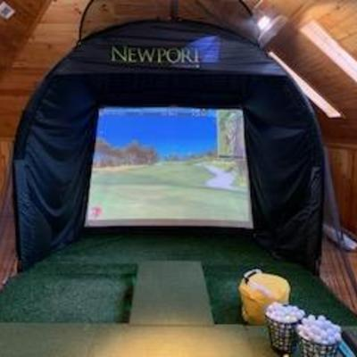 Newport trugolf simulator