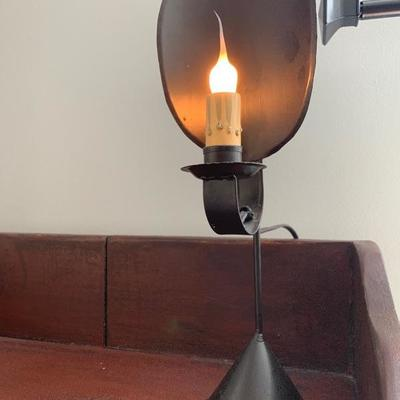 $45. Early American Reproduction Candle Stick Wall Sconce    By Seraph ,10' X H X 8' W X 5' D...