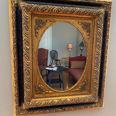 $65. Gesso over Wood Mirror, 24