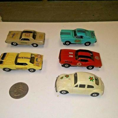 https://www.ebay.com/itm/124190461320BU3024 LOT OF FIVE VINTAGE 1960s TOY AURORA THUNDER JET 500 H.O. SCALE ELECTRIC Auction