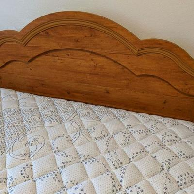 Queen headboard and frame $95.00