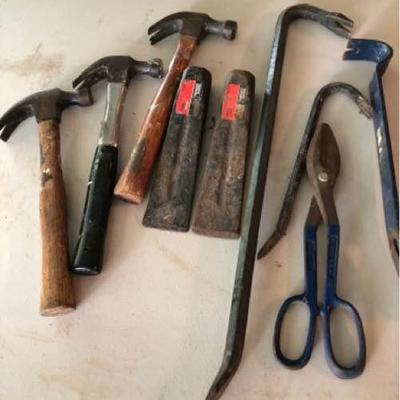 9 Piece Assorted Hand Tools
