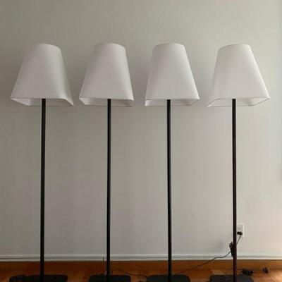 Room and Board Barlow Floor Lamp, Four Available. Find the FULL LISTING, Prices and MAKE AN OFFER, on our website, www.huntestatesales.com