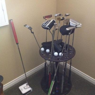 Collection of putters