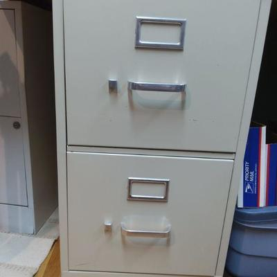 2 Drawer Filing Cabinets (2)