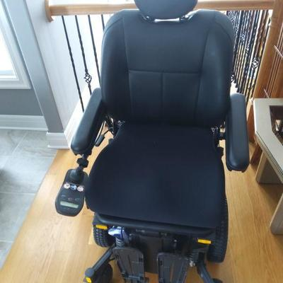 Power Wheelchair with Accessories