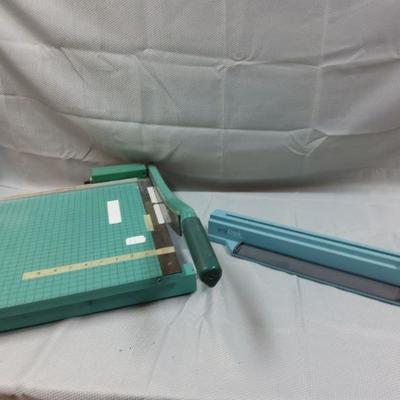 Book Binder and Paper Cutter