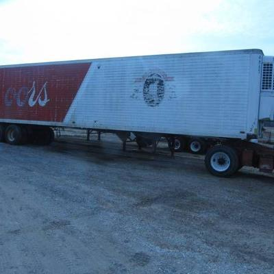 45' TIMPTE REEFER TRAILER WITH SBII  THERMO-KING UNIT 102 OUTSIDE WIDTH 96 INSIDE