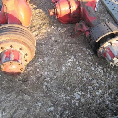 40,000 LB ROCKWELL REAR ENDS  FRONT AND REAR 3.73 RATIO