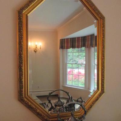 Beautiful Gold Gilt Mirrors