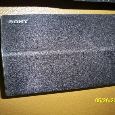 2pcs. Sony Soundbar and Sub - woofer.