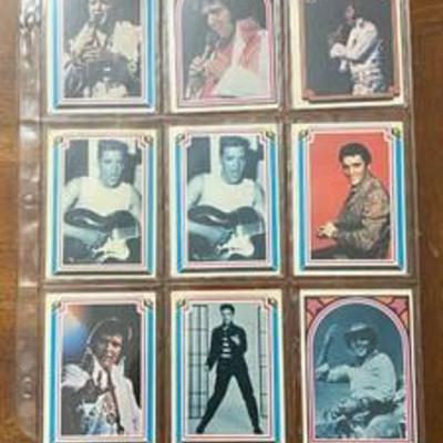 1978 ELVIS PRESLEY 66 Card Collecion - Very Collectible - 42 Years Old - BID NOW
